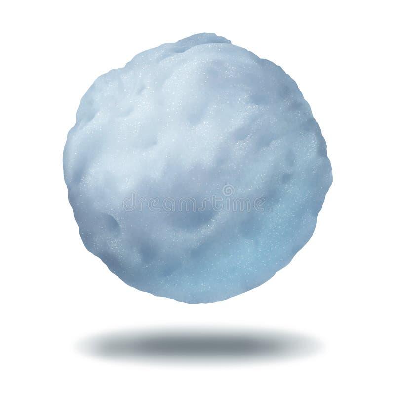 χιονιά διανυσματική απεικόνιση