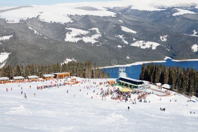 Χιονοδρομικό κέντρο Vidra στοκ εικόνες
