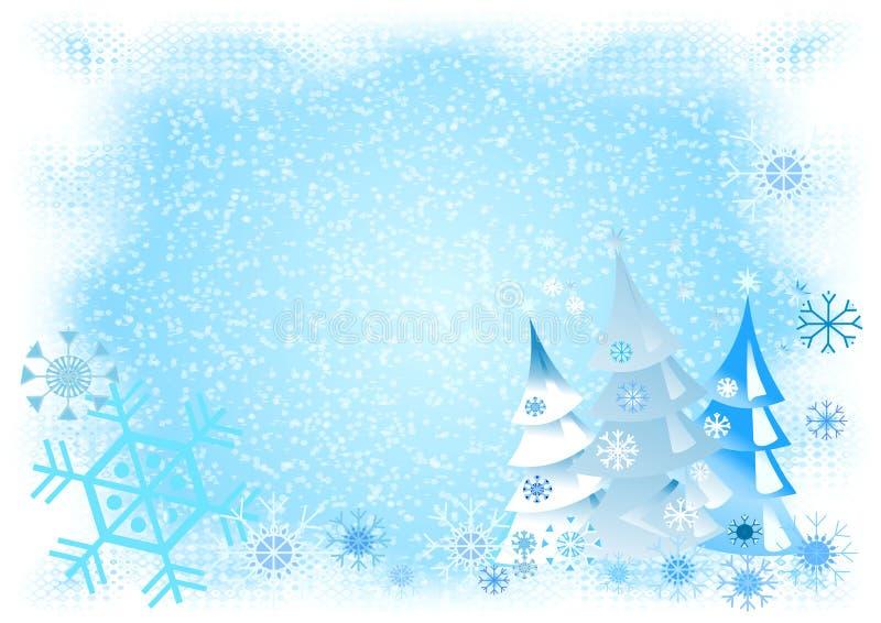 χιονώδες winterworld ελεύθερη απεικόνιση δικαιώματος