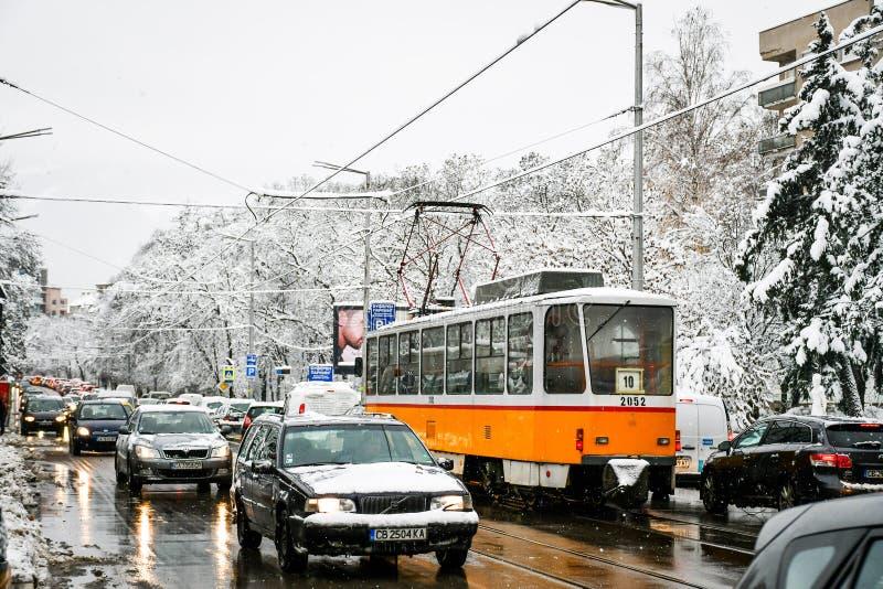 Χιονώδης χειμώνας στοκ φωτογραφίες