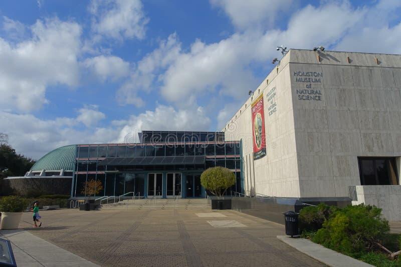 ΧΙΟΥΣΤΟΝ, ΗΠΑ - 12 ΙΑΝΟΥΑΡΊΟΥ 2017: Άποψη από έξω από το κτήριο στο Εθνικό Μουσείο της φυσικής επιστήμης στο Ορλάντο στοκ φωτογραφία με δικαίωμα ελεύθερης χρήσης