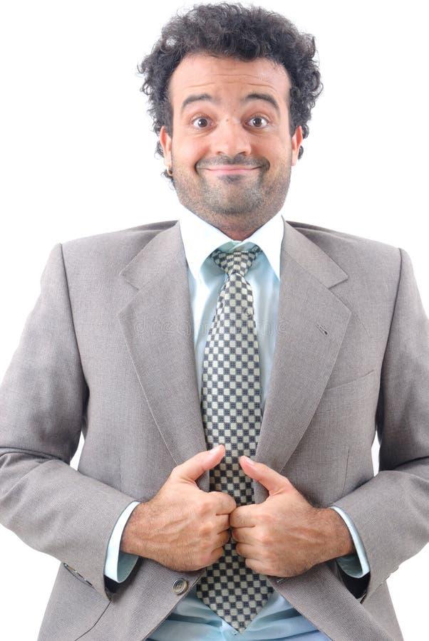 χιούμορ επιχειρηματιών στοκ φωτογραφία με δικαίωμα ελεύθερης χρήσης