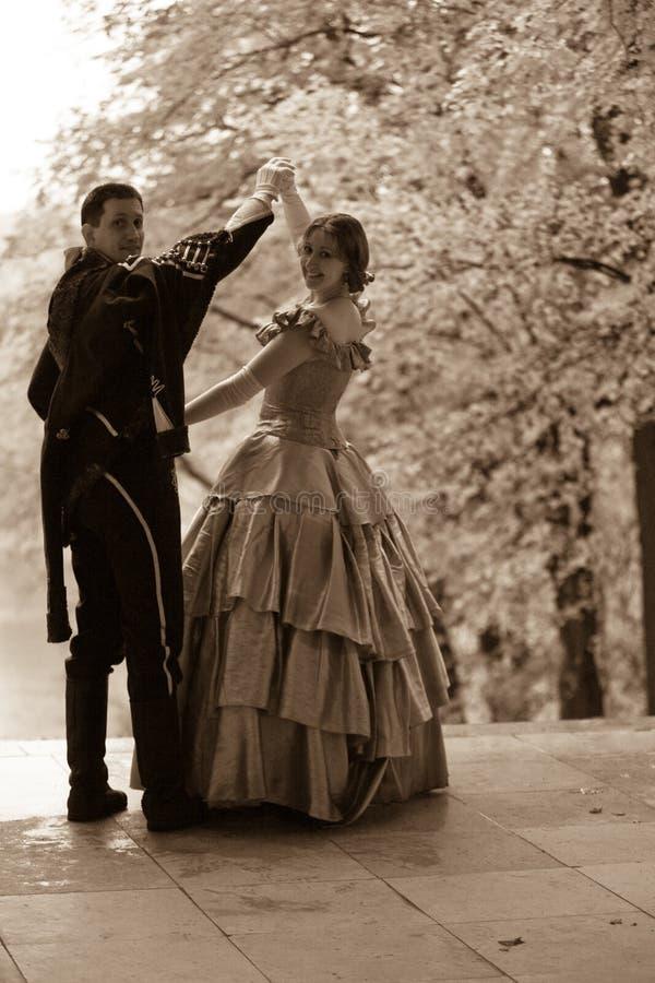 ΧΙΧ ρομαντική ιστορία αιώνα στοκ εικόνα