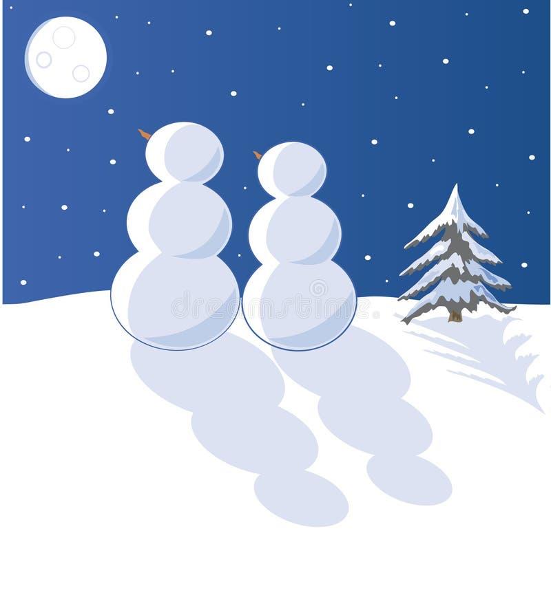 Download χιόνι αγάπης διανυσματική απεικόνιση. εικονογραφία από ρωμανικός - 17058881