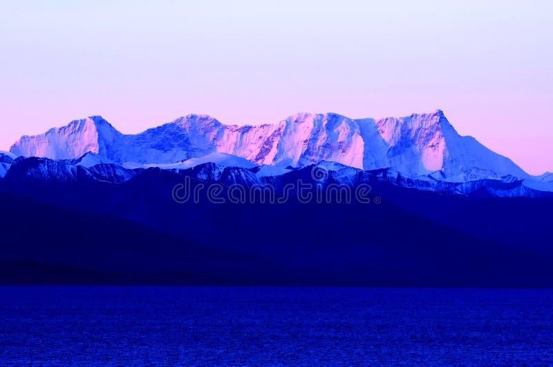 χιόνι Θιβέτ βουνών στοκ φωτογραφία με δικαίωμα ελεύθερης χρήσης