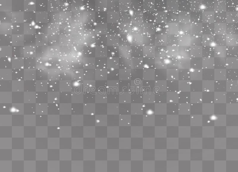 Χιόνι και αέρας απεικόνιση αποθεμάτων