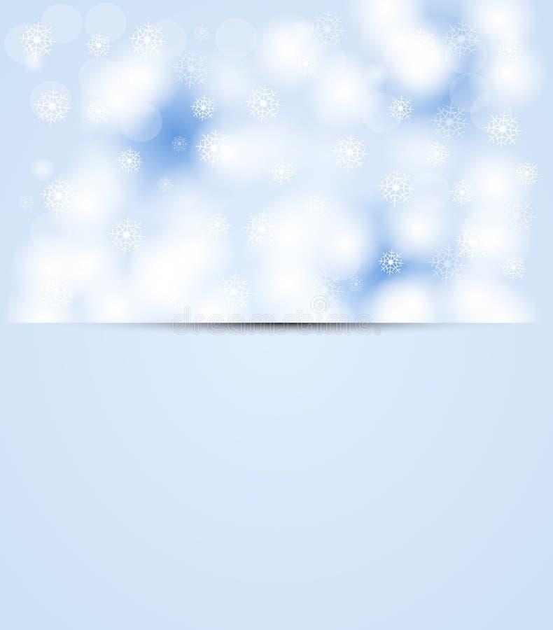 Χιόνι ουρανού Χριστουγέννων και Πρωτοχρονιάς ελεύθερη απεικόνιση δικαιώματος