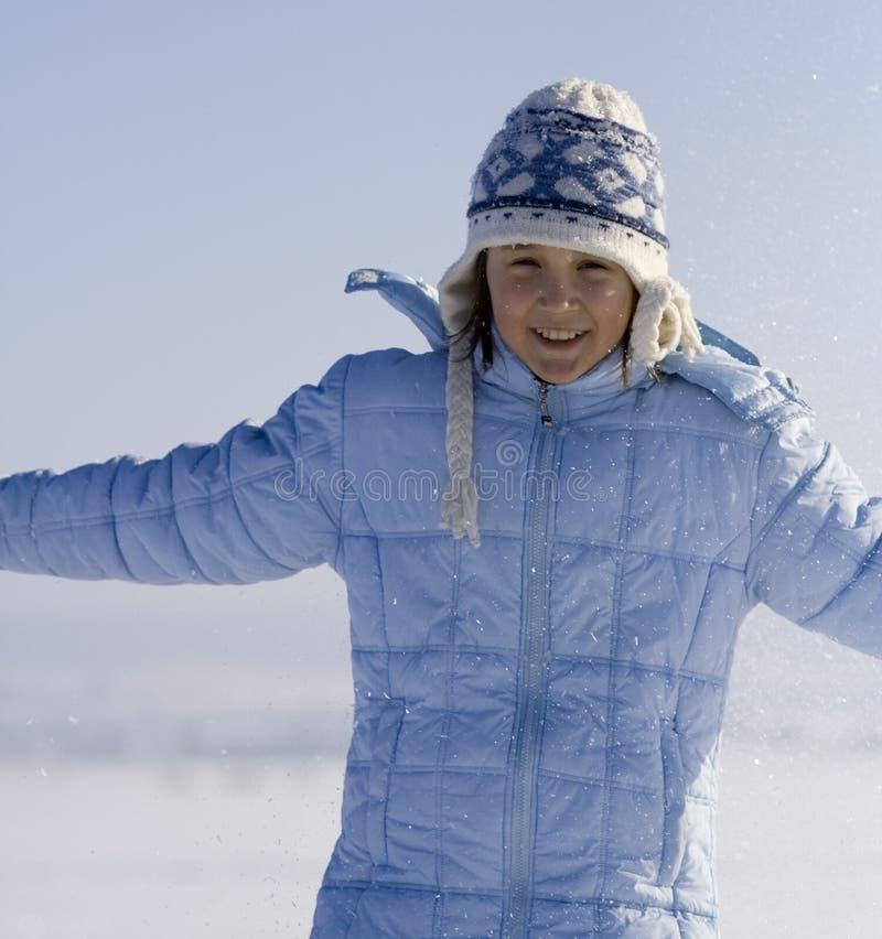 χιόνι παιχνιδιών στοκ φωτογραφίες