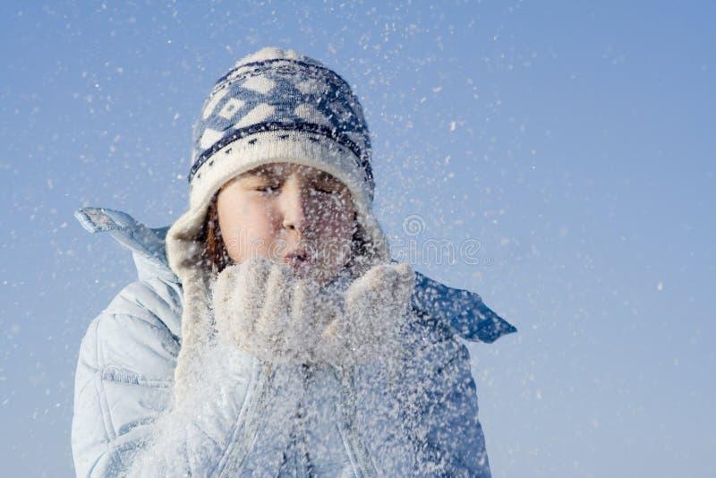 χιόνι παιχνιδιών στοκ φωτογραφία με δικαίωμα ελεύθερης χρήσης
