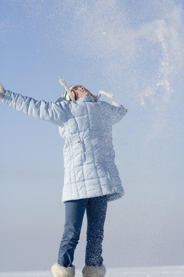 χιόνι παιχνιδιών στοκ εικόνα με δικαίωμα ελεύθερης χρήσης