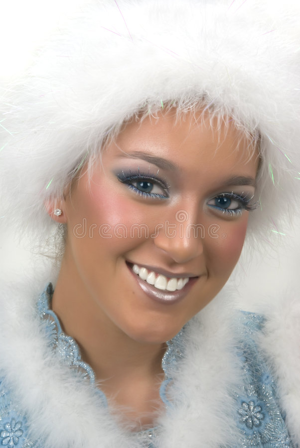 χιόνι πριγκηπισσών στοκ φωτογραφία με δικαίωμα ελεύθερης χρήσης