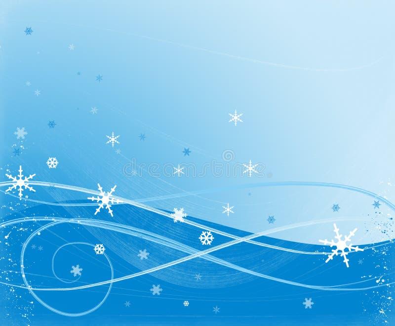 χιόνι σκηνής στοκ φωτογραφία
