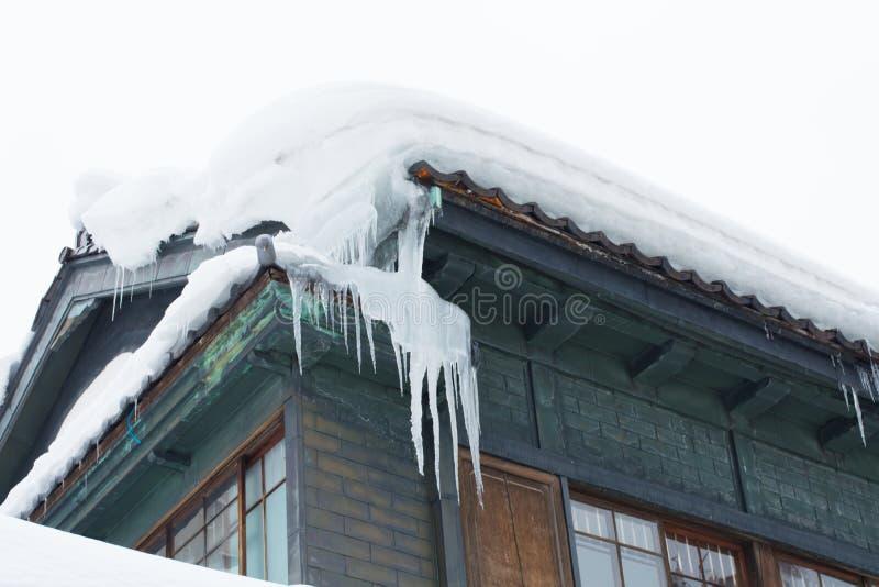 χιόνι στεγών στοκ εικόνες με δικαίωμα ελεύθερης χρήσης