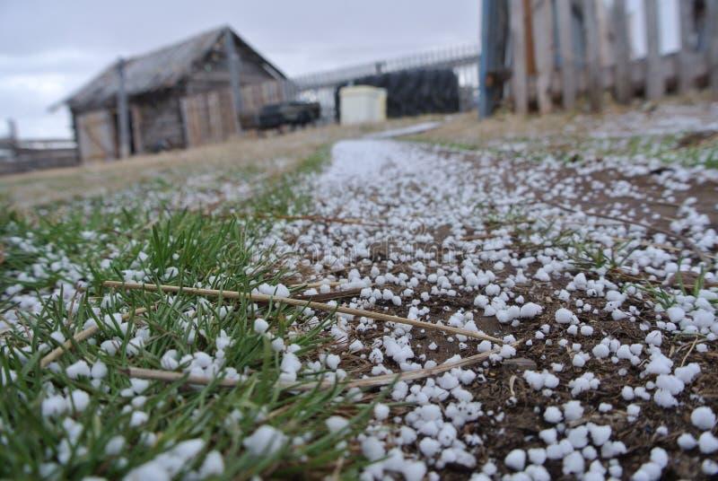Χιόνι στο έδαφος στοκ εικόνα με δικαίωμα ελεύθερης χρήσης