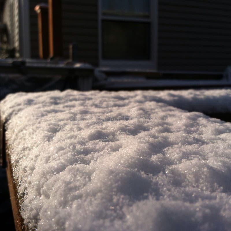 χιόνι του Σιάτλ στοκ εικόνες με δικαίωμα ελεύθερης χρήσης