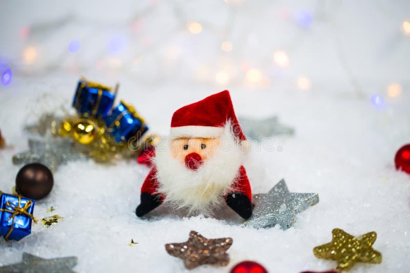 χιόνι santa Claus στοκ φωτογραφίες με δικαίωμα ελεύθερης χρήσης