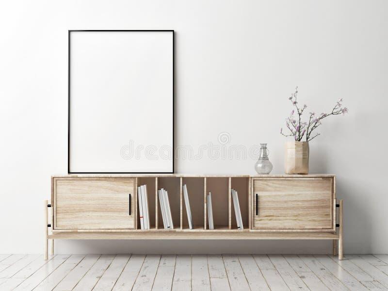 Χλεύη επάνω στην αφίσα με τις ξύλινες στάσεις TV, ελεύθερη απεικόνιση δικαιώματος