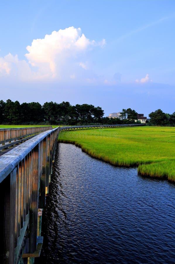 χλόη γεφυρών μακριά πέρα από τ&o στοκ φωτογραφία με δικαίωμα ελεύθερης χρήσης