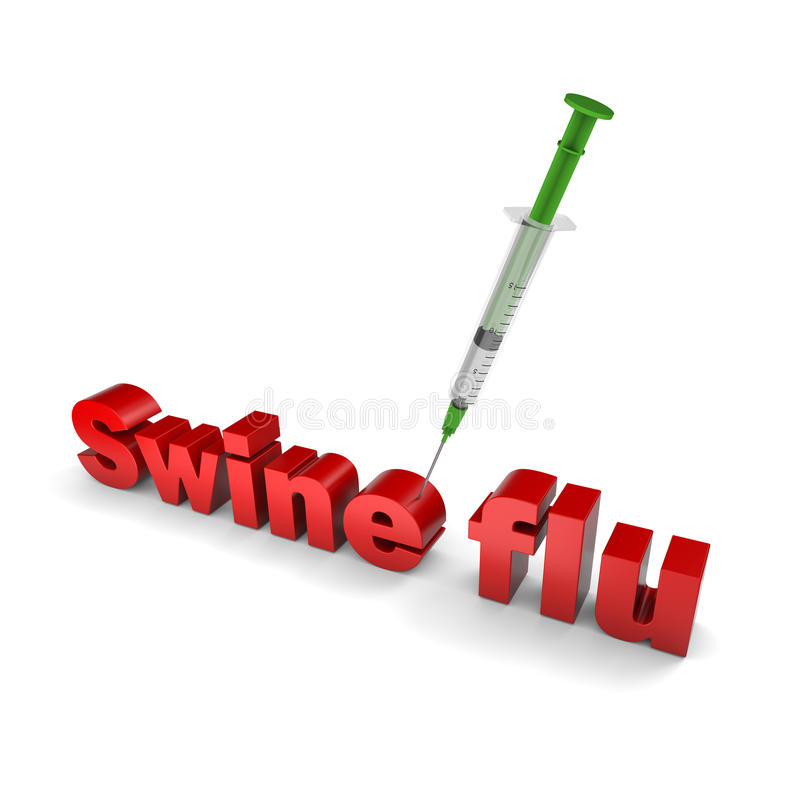 χοίροι γρίπης θεραπείας απεικόνιση αποθεμάτων