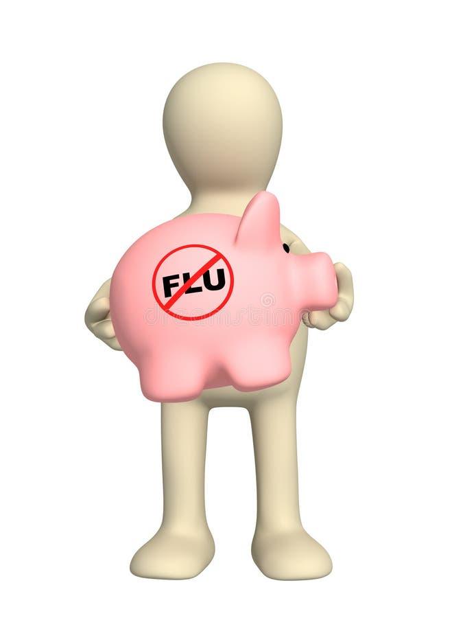 χοίροι γρίπης απεικόνιση αποθεμάτων