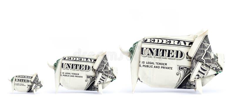 3 χοίροι χρημάτων στοκ φωτογραφίες με δικαίωμα ελεύθερης χρήσης