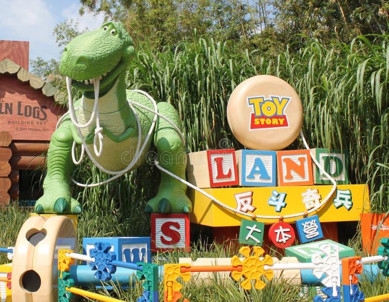 Χογκ Κογκ Disneyland στοκ φωτογραφία με δικαίωμα ελεύθερης χρήσης