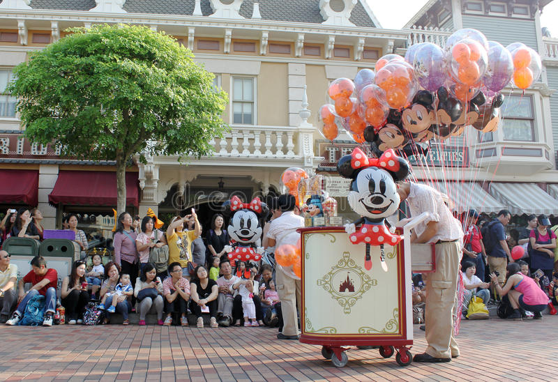Χογκ Κογκ Disneyland στοκ φωτογραφίες με δικαίωμα ελεύθερης χρήσης