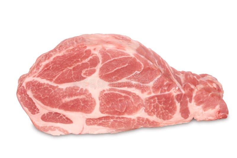 χοιρινό κρέας ακατέργαστ&omic στοκ φωτογραφία
