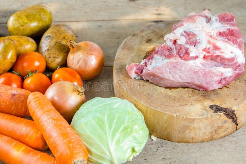 χοιρινό κρέας ακατέργαστ&omicr στοκ φωτογραφίες με δικαίωμα ελεύθερης χρήσης
