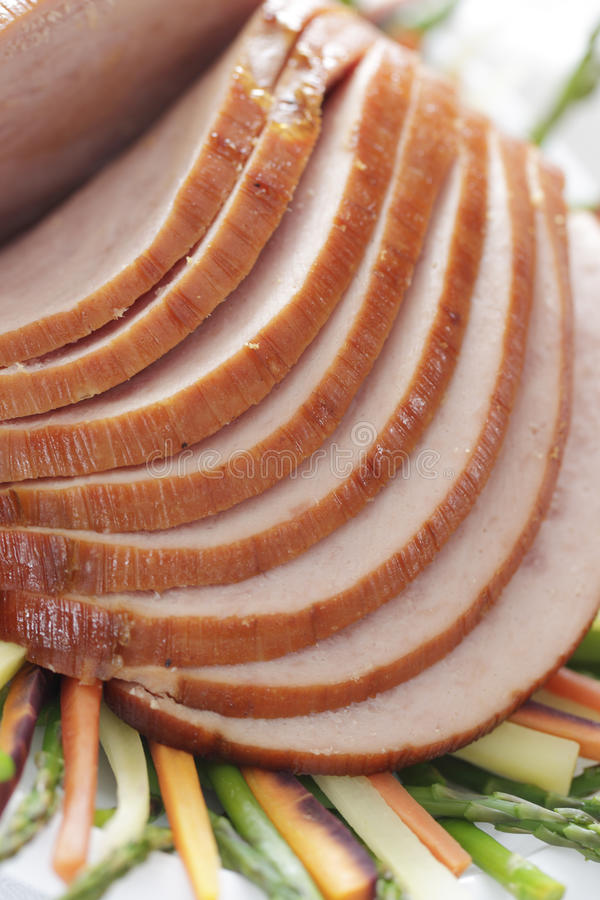Download χοιρινό κρέας ζαμπόν που τε Στοκ Εικόνα - εικόνα από κρέας, εστιατόριο: 13176411