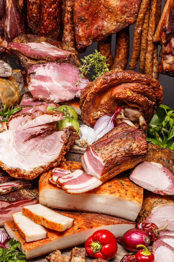 χοιρινό κρέας κρέατος που καπνίζεται στοκ φωτογραφία με δικαίωμα ελεύθερης χρήσης