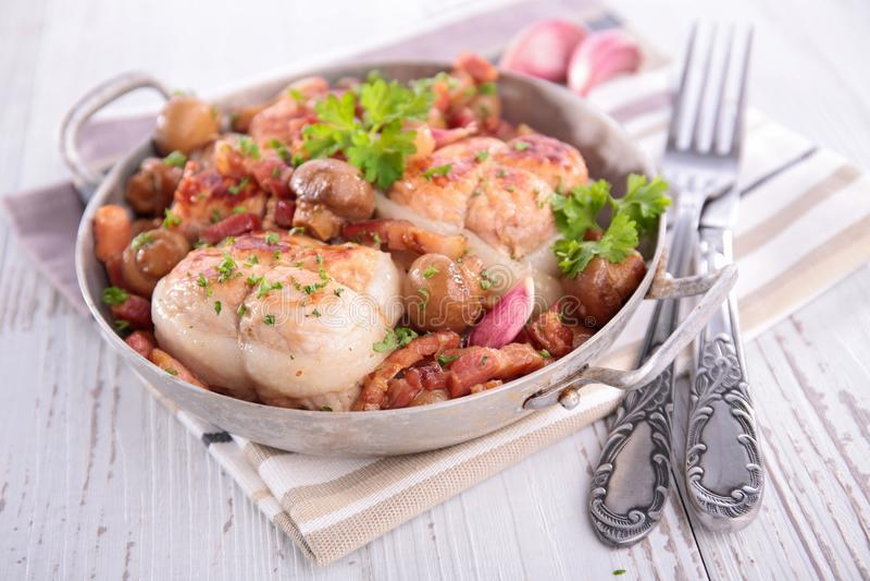 χοιρινό κρέας κρέατος πο&upsilon στοκ φωτογραφία