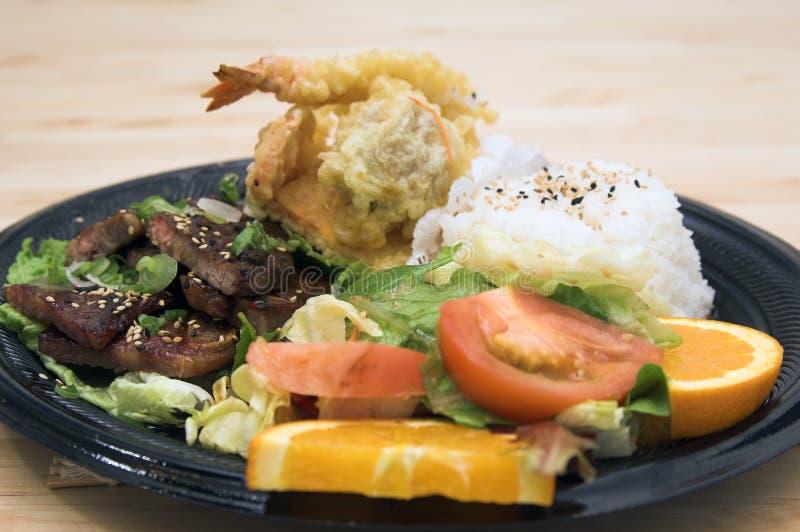 χοιρινό κρέας πιάτων misoyaki combo στοκ φωτογραφίες με δικαίωμα ελεύθερης χρήσης