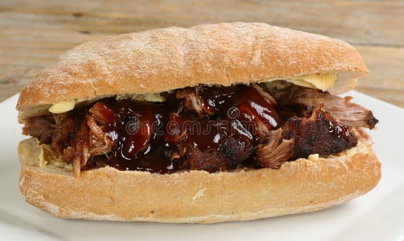 χοιρινό κρέας που τραβιέται στοκ εικόνα με δικαίωμα ελεύθερης χρήσης