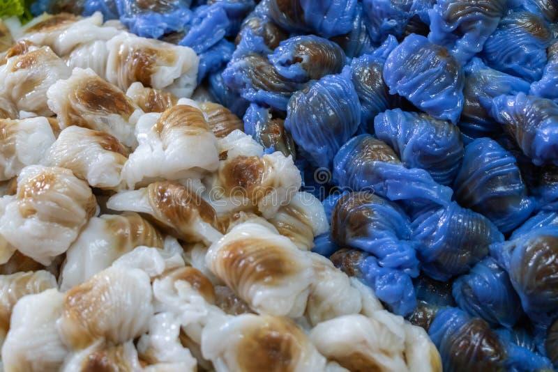 Χοιρινό κρέας σάγου ή kanom σάγος στοκ φωτογραφίες με δικαίωμα ελεύθερης χρήσης