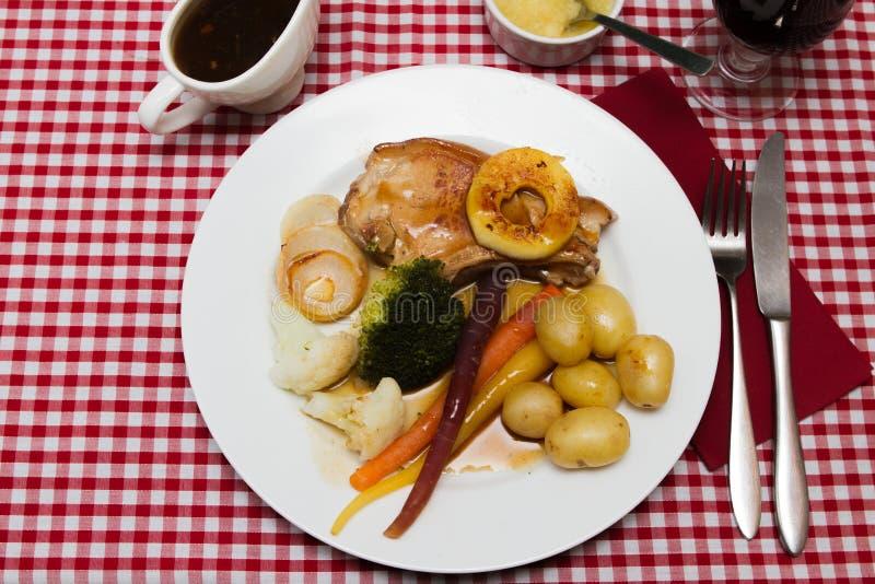 Χοιρινό κρέας escalope στοκ φωτογραφίες με δικαίωμα ελεύθερης χρήσης