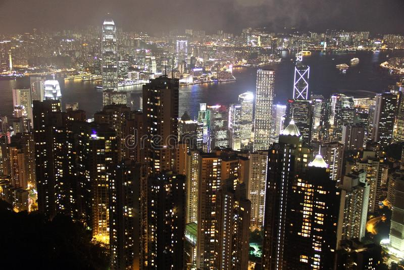 Χονγκ Κονγκ ζάλης στοκ φωτογραφία με δικαίωμα ελεύθερης χρήσης