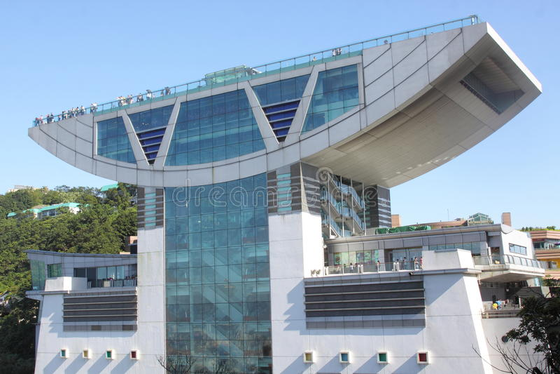 Χονγκ Κονγκ: Ο μέγιστος πύργος στοκ εικόνες