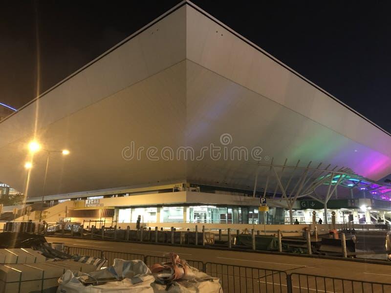 Χονγκ Κονγκ Coliseum, Hunghom, χερσόνησος Kowloon στοκ φωτογραφία με δικαίωμα ελεύθερης χρήσης