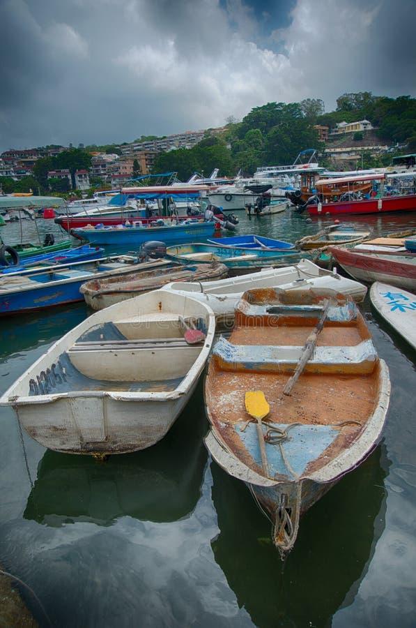 Χονγκ Κονγκ sampan στοκ φωτογραφία