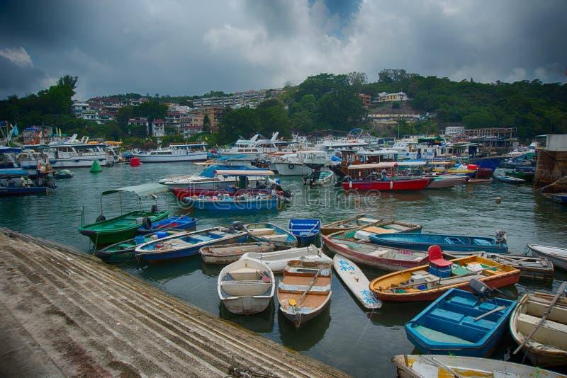 Χονγκ Κονγκ sampan στοκ φωτογραφία με δικαίωμα ελεύθερης χρήσης