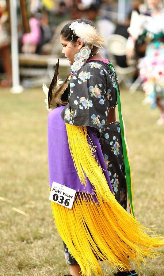 Χορευτές αμερικανών ιθαγενών pow wow στοκ φωτογραφία με δικαίωμα ελεύθερης χρήσης