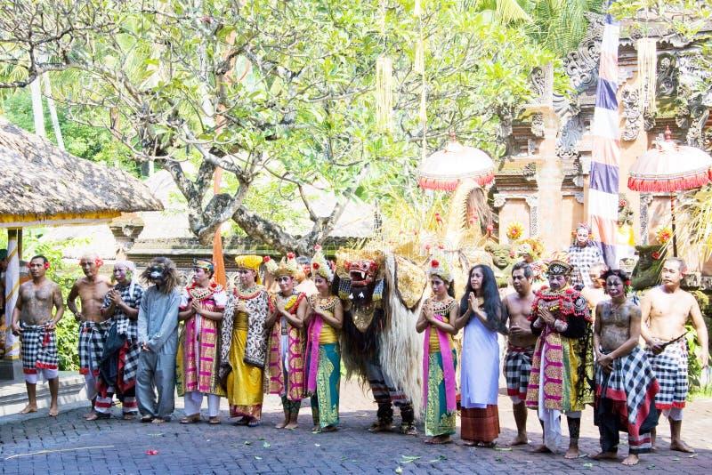 χορευτές Ινδονησία του &Mu στοκ εικόνες