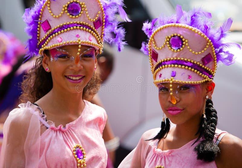Χορευτές καρναβαλιού στοκ εικόνες