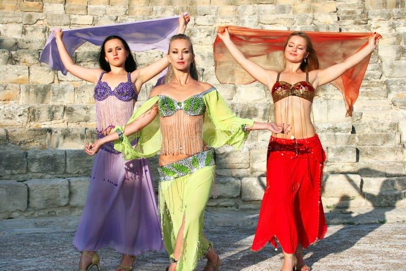 χορευτές κοιλιών στοκ εικόνες