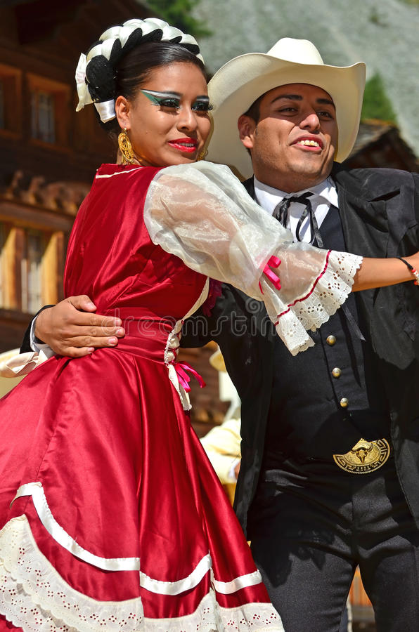 χορευτές μεξικανός στοκ εικόνες