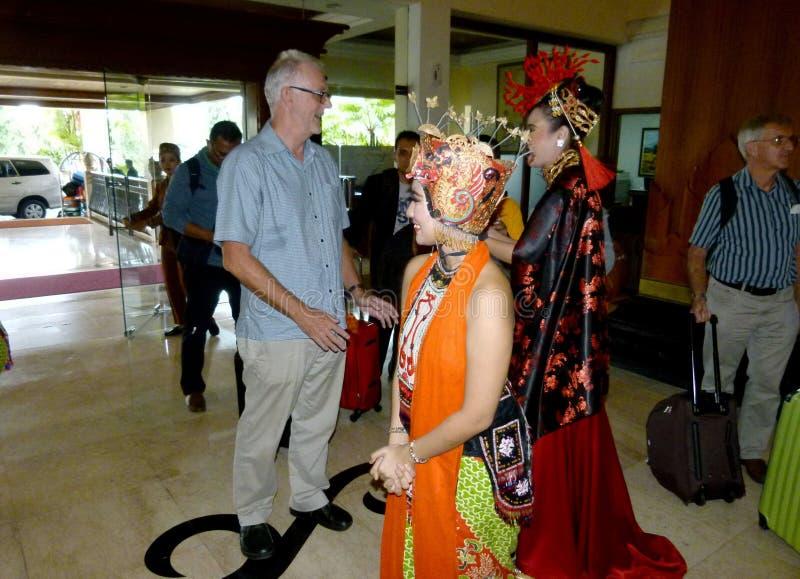 χορευτές παραδοσιακοί στοκ εικόνα