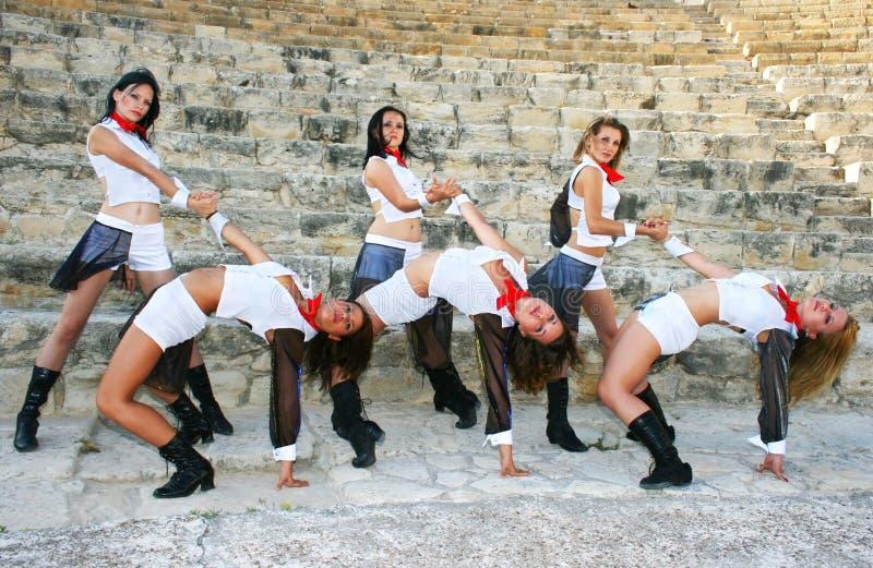 χορευτές σύγχρονοι στοκ φωτογραφίες