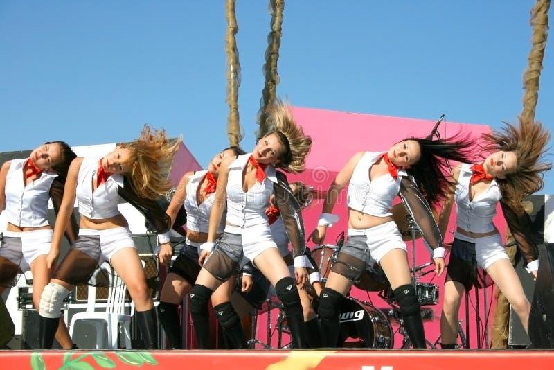 χορευτές σύγχρονοι στοκ εικόνα με δικαίωμα ελεύθερης χρήσης