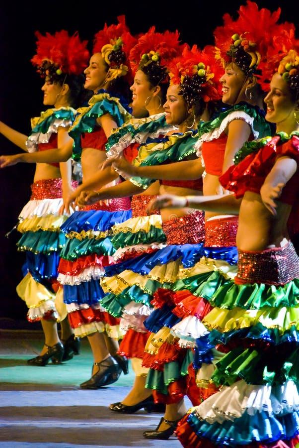 Χορευτές της Βραζιλίας στοκ εικόνα με δικαίωμα ελεύθερης χρήσης